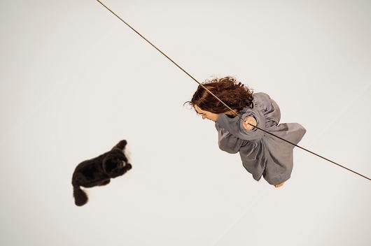 ragno Giocattolo del Cacciatore di Gatti di Halloween con Corda e Campana Giocattolo del Giocattolo Rotolante di Ragni e Pipistrello Cacciatore di Bastoni Giocattolo di Presa per il Giocattolo Divertente